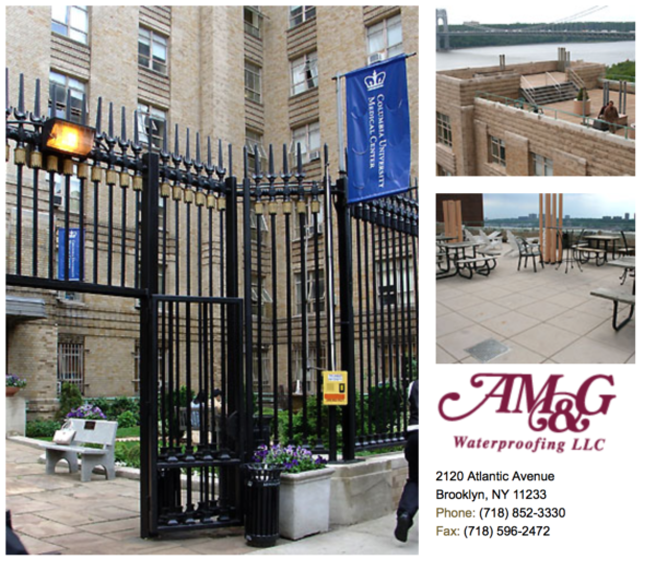 Project Highlights Am Amp G Waterproofing Llc Serving Ny